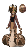 Egg Hatched: Gaboon Viper by geekgirl8