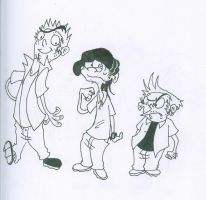 Older Ed Edd n Eddy by squeaken1