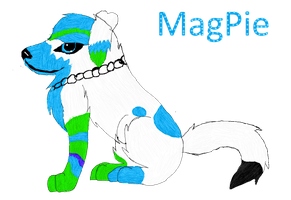 Magpie by PyroWolfFox