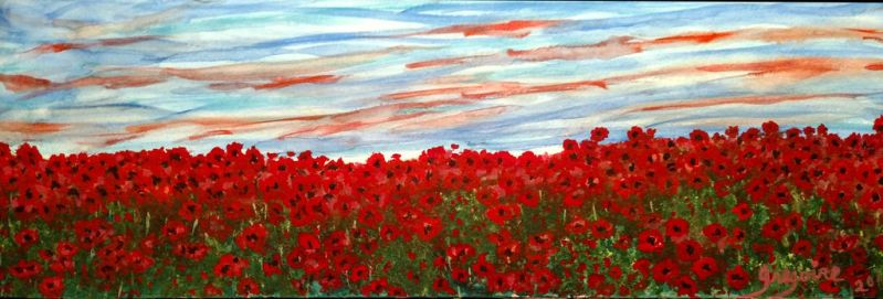 The Poppies Still Dance by carolgregoire