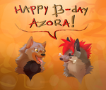 Happy B-day Azora! by Niboe