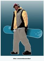 the snowboarder by turn2002