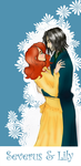 Severus and Lily by lepetityoshi