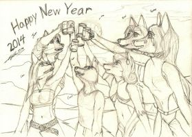 Day 1: Happy New Year by Carbon-Vanilla