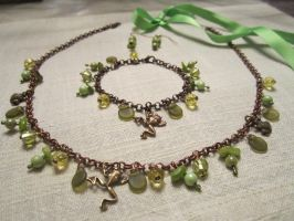 Princess and the frog Jewelry by Blossom-Disneyaholic