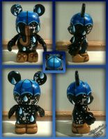 Vinylmation 3'' Singin' in the Rain Custom by StephanieCassataArt