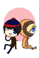Stan and Kenny by AdventureTime1Fan