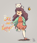 Bee and Puppycat by JailhouseKing
