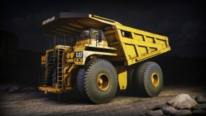 Caterpillar 797 B/F Mining Truck by YoRoque
