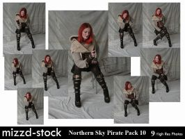 Northern Sky Pirate Pack 10 by mizzd-stock