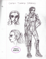 Turanya Shepard design sketch by AmethystSadachbia