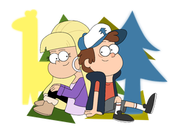 Dipper Pines and Pacifica Northwest by 6anako