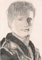 Peeta - The Hunger Games by ilovetangled