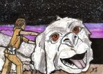 The Neverending Story Sketch Card by Jack Chattox by JChattox