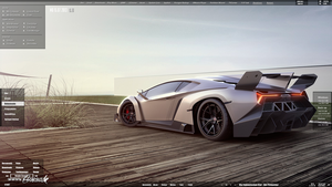 Gurnade Lamborghini Veneno Screenshot by DocBerlin77