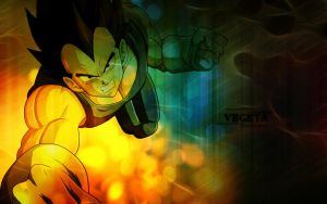 Vegeta 001 by Cheeky-Dog