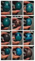 2010 Blue Easter Eggs by maddy39