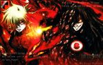 Wallpaper Alucard and Seras by AtlasMaximus