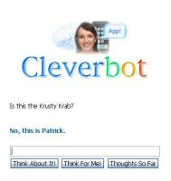 Cleverbot Watches Spongebob by PrincessGigiHeart