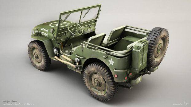 Willys Jeep 03 by zsozs