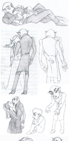 Sketchdump 7 - Nosferatu by Mrs-Crocker