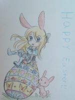 Happy (late)Easter~!! by bunnyb133