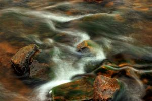 Gold and Green River Rush HDR by Bass4819