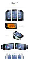 iPhone 5 Mock ups FREEMIUM by nechitapaulflavius