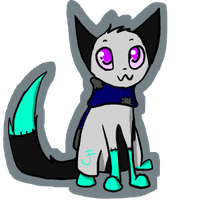 Silver Chibi by Silvaina