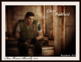 RE1 Chris Redfield by IamRinoaHeartilly
