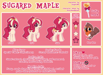 Sugared Maple Character Sheet (commission) by StarshineBeast