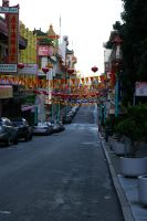 A fresh new morning in Chinatown by mirengraphics