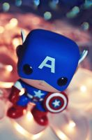 Cpt America by AlanSmithers