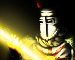 Solaire of Astora by Sathoryn