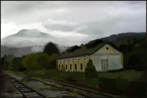 Old railway station by sumar4e