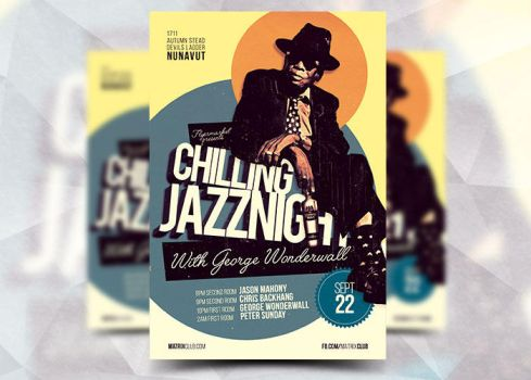 Chilling Jazznight by Flyermarket