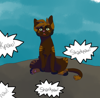 Sharkpaw Ceremony TBT by SophSouffle