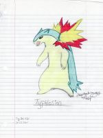 Typhlosion by theonlywhitewolf
