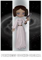 Princess Cookie Organa by bdy