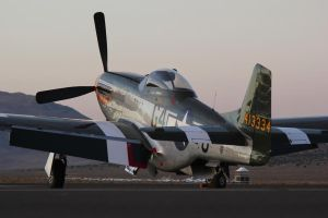 Reno Mustang at Sunset by Atmosphotography