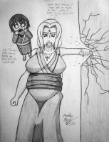 [Request] Angry Pregnant Tsunade by JAM4077