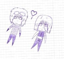 .:Mello and Matt:. by PigeonMaestro