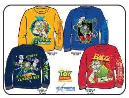 Toy Story_Boys' Long Sleeves by junroc
