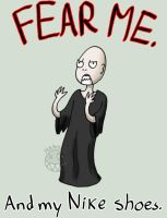 SHALL FEAR VOLDEMORT. by MexicanManatee