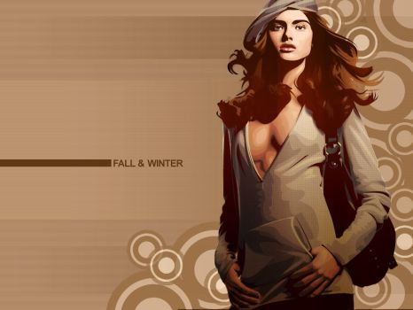 Fall and Winter by ditz