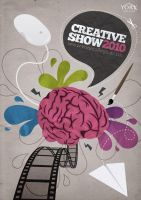 Creative Show Poster 2010 by andrewackroyd