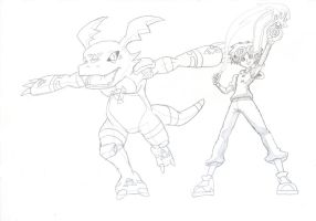 Digimon Yugioh Crossover - Takato by JayLee2014