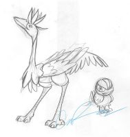 Flying Grass Fakemon by nyausi