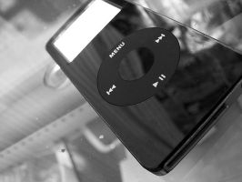 iPod Nano by Genuine-Atramentous