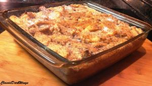 Bread Pudding Dish by ClassicDarkWings